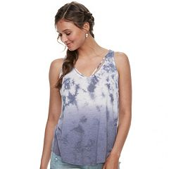 Juniors' Mudd® Strappy V-Neck Tank