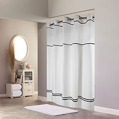 Hookless Monterey Shower Curtain & Liner