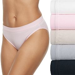 Women's Fruit of the Loom 5-pack Cotton-Blend Stretch Bikini Panty 5DCSSBK