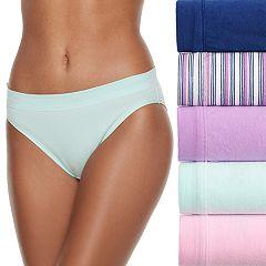 Women's Fruit of the Loom 5-pack Cotton-Blend Stretch Bikini Panty 5DCSSBK