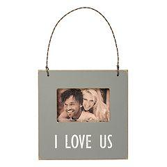 'I Love Us' 2' x 3' Mini Frame