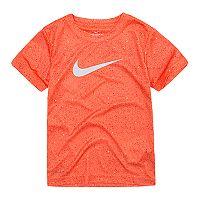 Boys 4-7 Nike Blacktop Speckled Swoosh Logo Graphic Tee