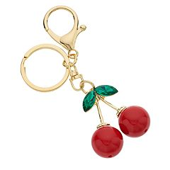 Mudd® Red Cherry Keychain