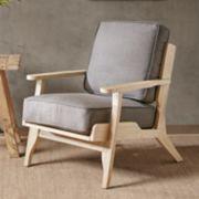 INK+IVY Malibu Lounge Arm Chair