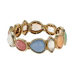 Napier Geometric Stretch Bracelet
