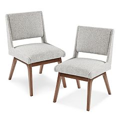 INK+IVY Boomerang Dining Chair 2-piece Set