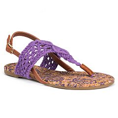 MUK LUKS Lorena Women's Sling-Back Sandals