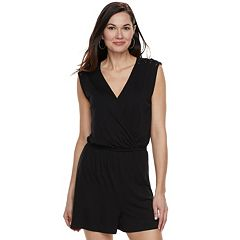 Women's Apt. 9® Lace-Up Romper