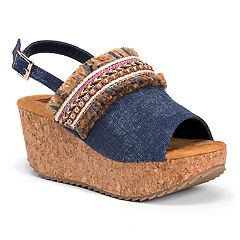 MUK LUKS Marion Women's Wedge Sandals