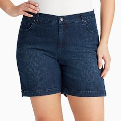 Plus Size Gloria Vanderbilt Amanda Jean Shorts