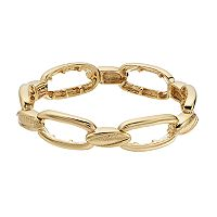 Napier Oval Link Stretch Bracelet