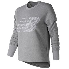 Women's New Balance Modern Graphic Crew Top