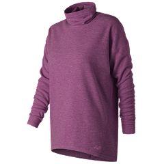 Women's New Balance Cozy Turtleneck Long Sleeve Top