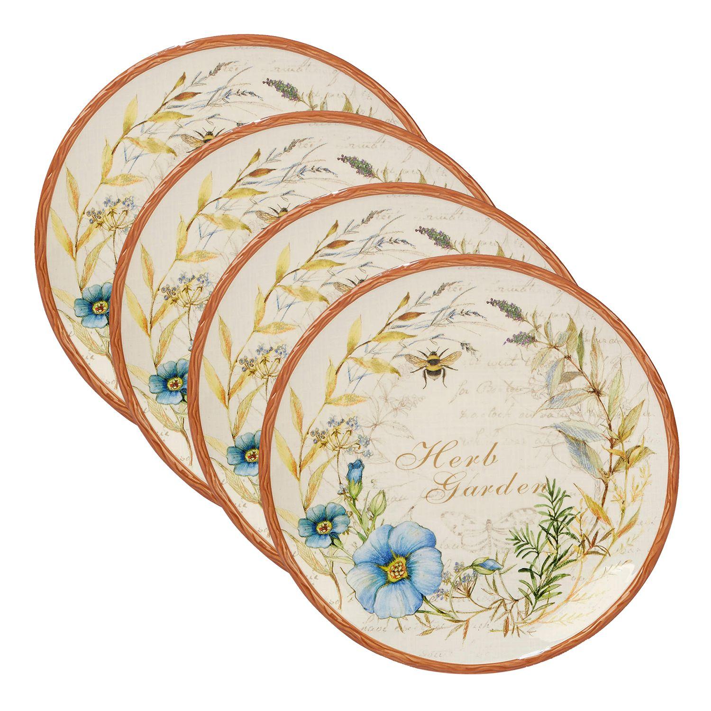 Certified International Herb Blossoms 4-piece Dinner Plate Set  sc 1 st  Kohl\u0027s & French Bull for Kohl\u0027s 11-in. Dinner Plate | null