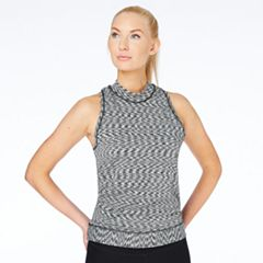 Women's Spalding Mock Neck Tennis Tank