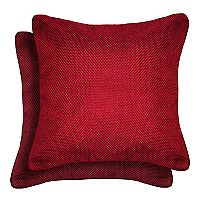 Spencer Home Decor Mene Basketweave 2-pack Throw Pillow Set