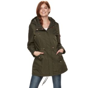 madden NYC Juniors' Utility Midweight Jacket