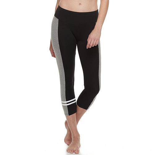 Juniors' SO® Colorblock Crop Yoga Leggings