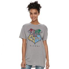 Juniors' Harry Potter Hogwarts Crest 'Alumni' Tee