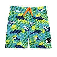 Boys 4-7 Sketchers Sharks Swim Trunks