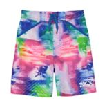 Boys 4-7 Skechers Tropical Swim Trunks