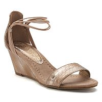 New York Transit Bring Music Women's Wedge Sandals