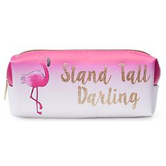 Jade & Deer Flamingo Cosmetic Bag
