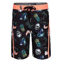 Boys 4-7 Hurley Toucan, Skulls & Pineapple Board Shorts