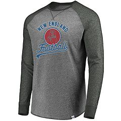 Men's New England Patriots Historic Long-Sleeve Tee