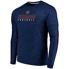 Men's Majestic Chicago Bears Ultra Streak Tee