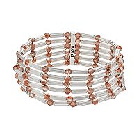 Napier Beaded Multi Row Stretch Bracelet