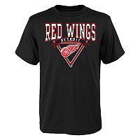 Boys 8-20 Detroit Red Wings Banner Tee