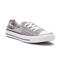 Women's Converse Chuck Taylor All Star Chambray Striped Shoreline Sneakers