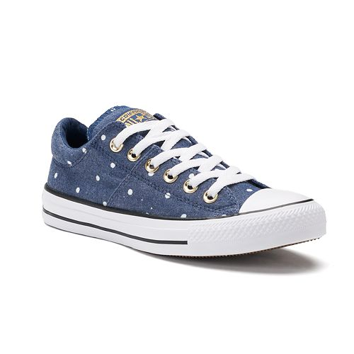 0fdd8e34f11 KOHL S. WOMEN S CONVERSE CHUCK TAYLOR ALL STAR POLKA-DOT MADISON SNEAKERS