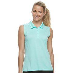 Women's FILA SPORT® Space-Dye Sleeveless Golf Polo