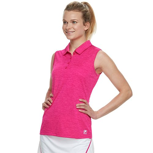 9420bea25457 Women's FILA SPORT® Space-Dye Sleeveless Golf Polo