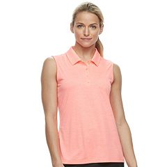 Women's FILA SPORT® Space-Dye Sleeveless Golf Polo