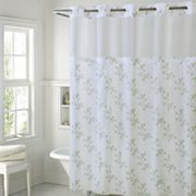 Hookless Spring Leaves Shower Curtain & Liner