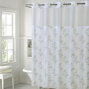 Zenna Home Curved NeverRust Shower Curtain Rod