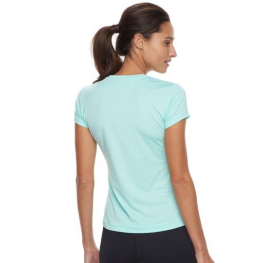 Women's FILA SPORT® UPF Short Sleeve V-Neck Tee