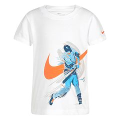 Boys 4-7 Nike Brush Baseball Player Graphic Tee