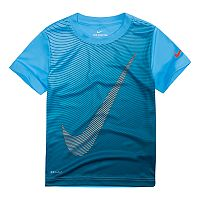Boys 4-7 Nike Optical Swoosh Logo Graphic Tee