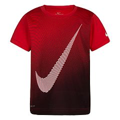 Boys 4-7 Nike Optical Swoosh Logo Graphic Tee