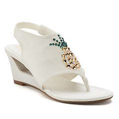 New York Transit Fancy Fruit Women's Wedge Sandals