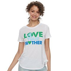Juniors' 'Love Your Mother' Tee