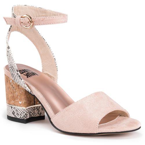 MUK LUKS Priscilla Women's ... Chunky Heel Sling-Back Sandals