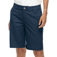 Women's Croft & Barrow® Twill Bermuda Shorts