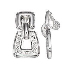 Napier Doorknotcker Clip-On Earrings