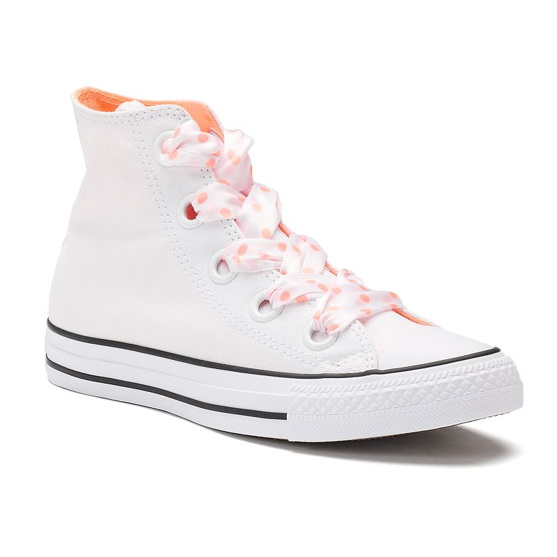 3fd836e5715d38 Women s Converse Chuck Taylor All Star Big Eyelets High Top Sneakers ...