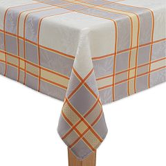 Celebrate Fall Together Sunflower Jacquard  Tablecloth